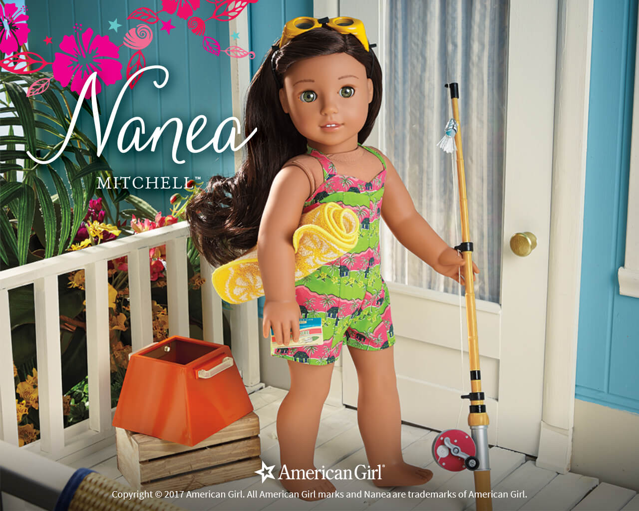 Nanea Mitchell | 1941 | BeForever | Play at American Girl