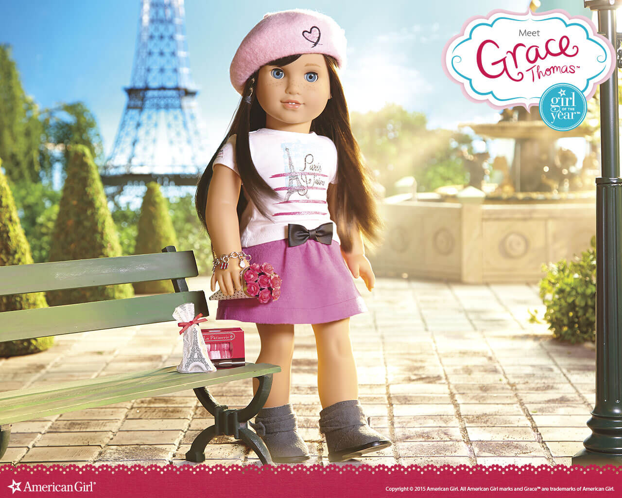 american girl of the year grace play at american girl