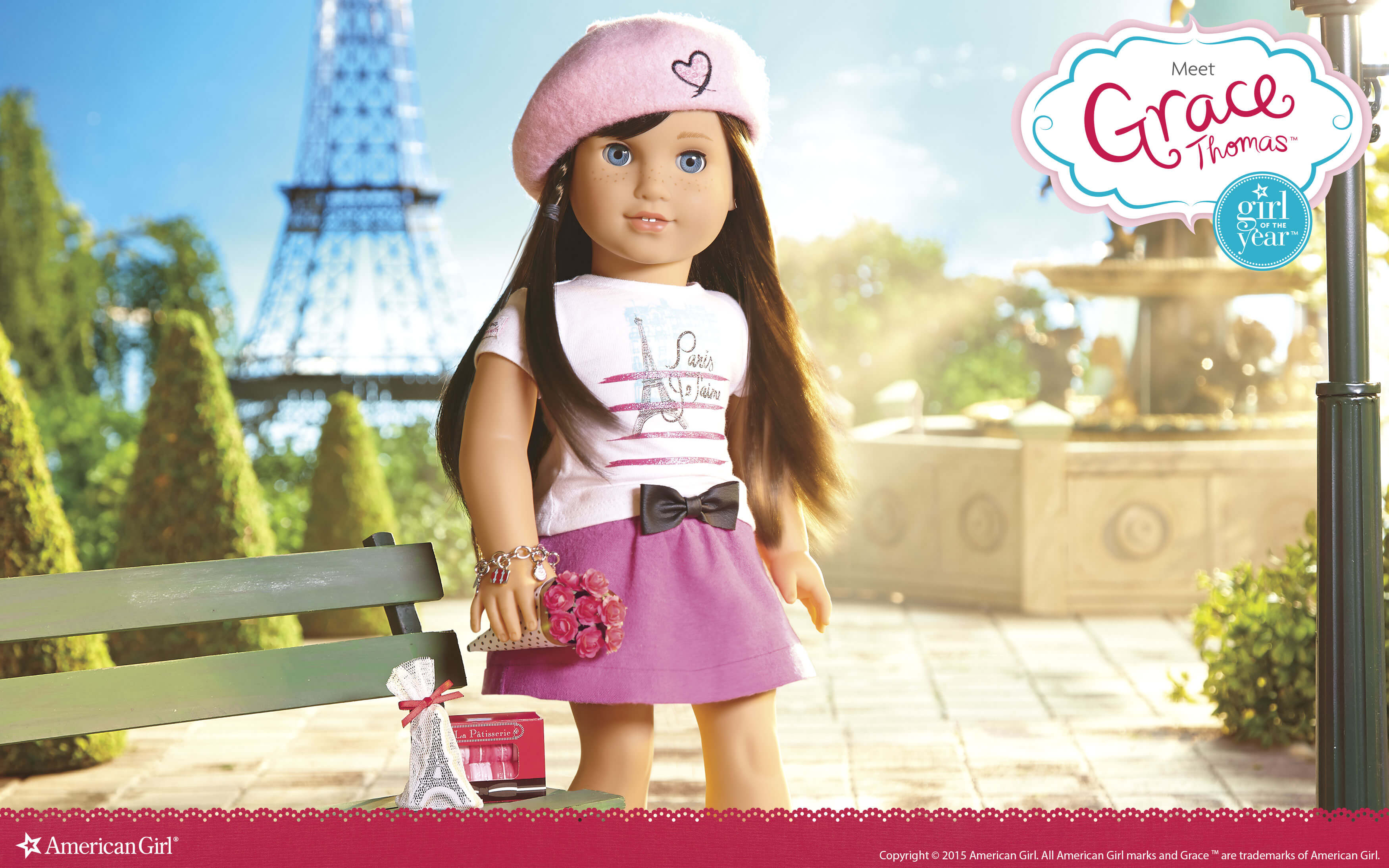 american girl wallpaper  American Girl of the Year - Grace | Play at American Girl