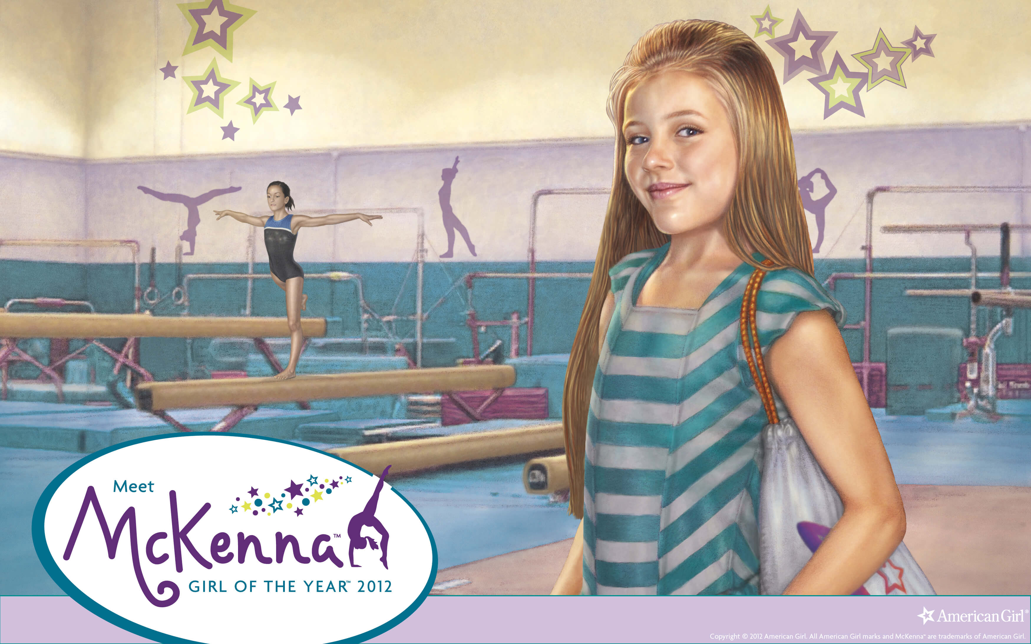 American Girl of the Year - McKenna | Play at American Girl