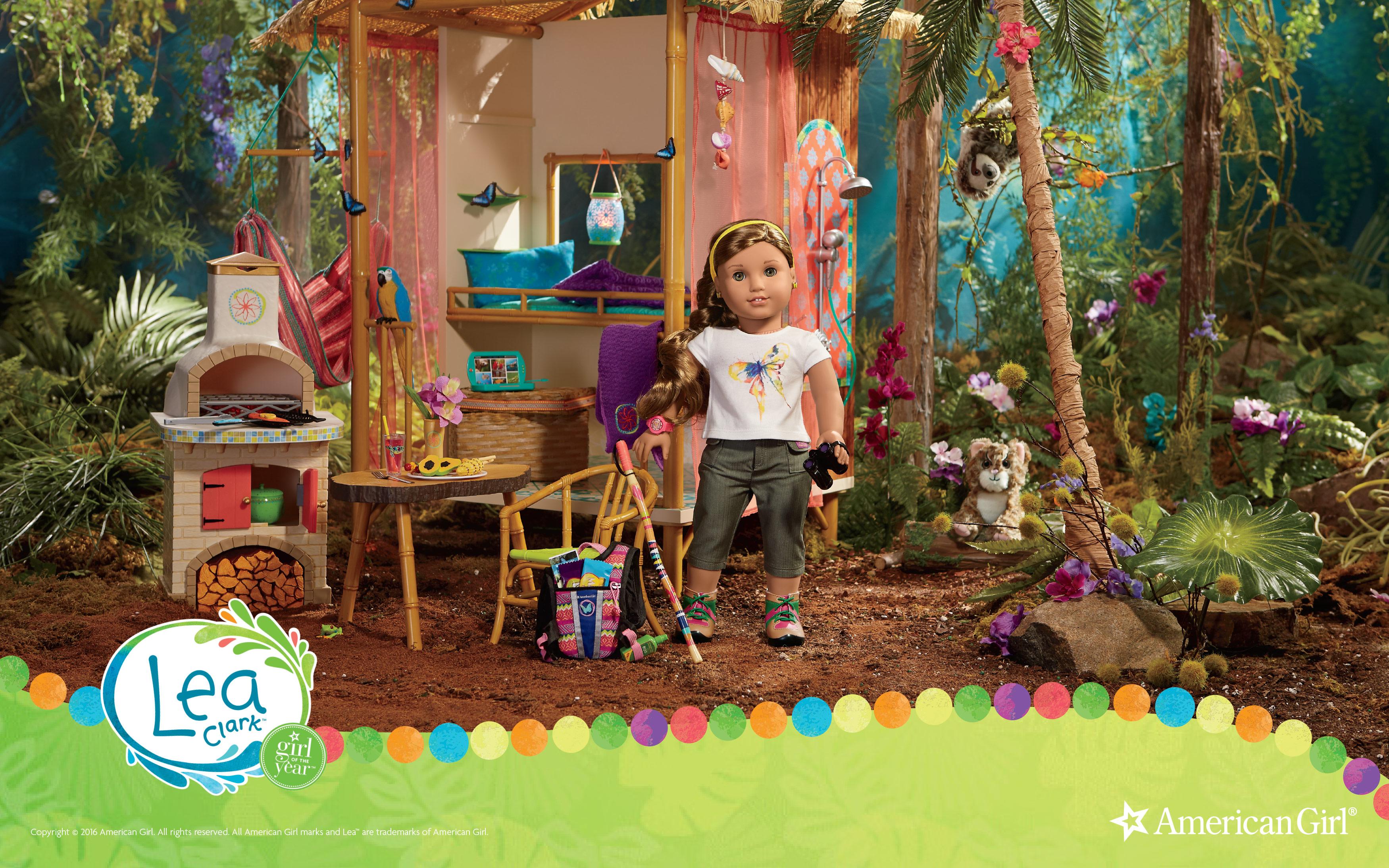 american girl doll wallpaper  Lea Clark   2016   Girl of the Year   Play at American Girl