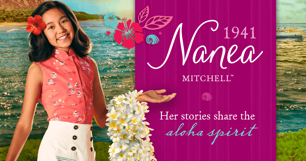 Nanea Mitchell 1941. Her stories share the aloha spirt.