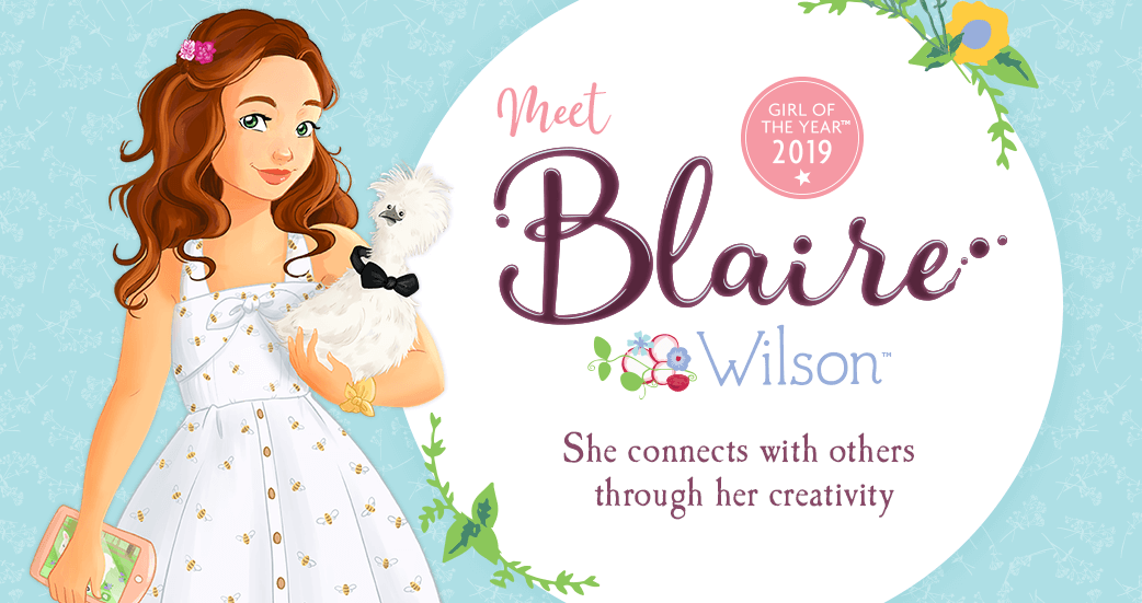 American Girl 2019 Girl of the Year Blaire Wilson