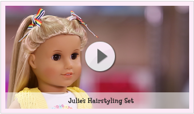 doll hair care play at american girl