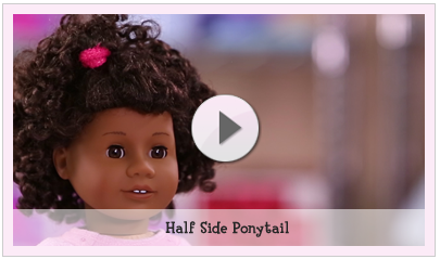 Doll Hair Care Play At American Girl - American girl doll hairstyle ideas