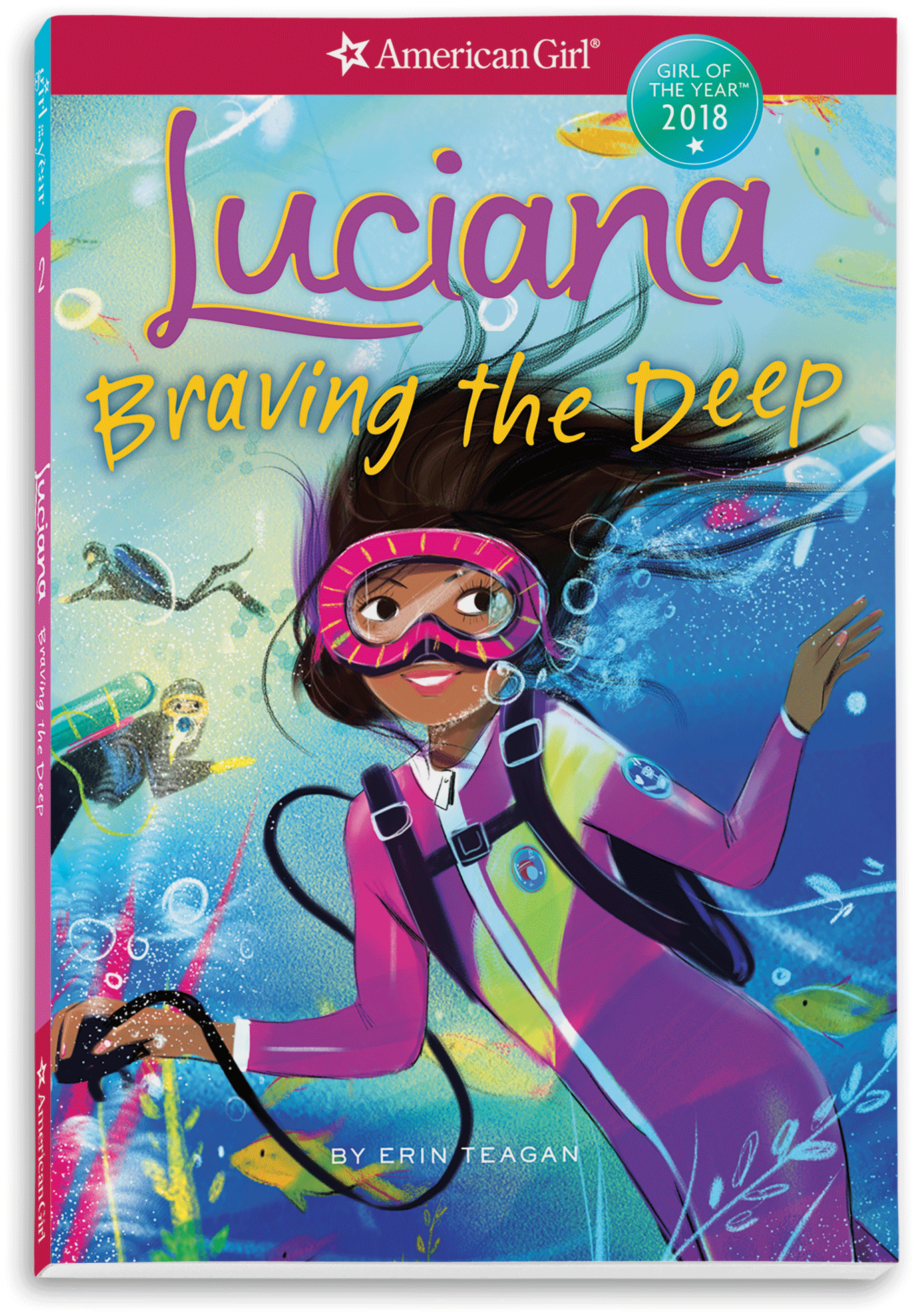 Luciana Braving The Deep