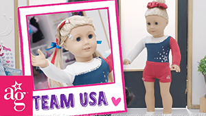 Dolled Up: Team USA sparkly red white blue