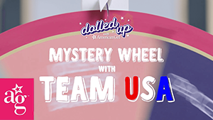 Dolled up: Team USA mystery wheel with team usa