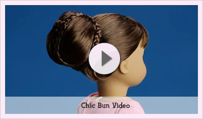 how to take care of american girl doll hair