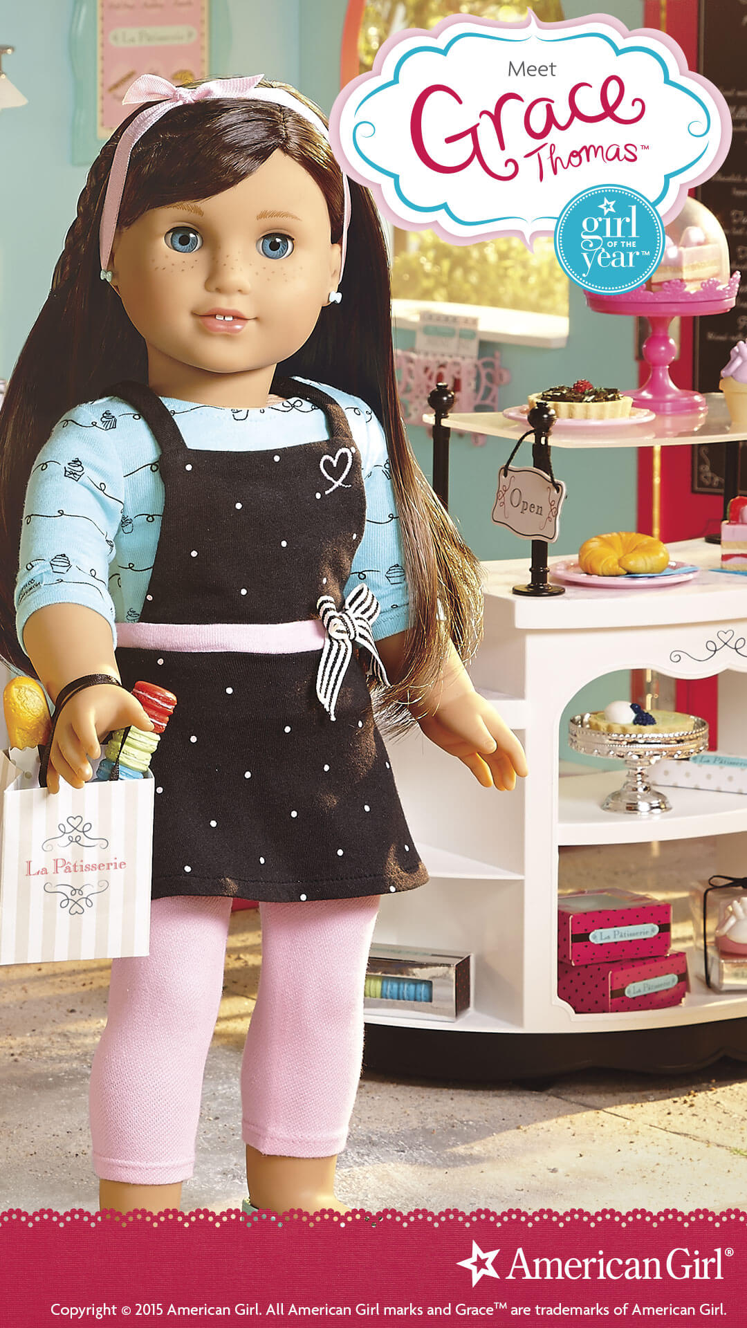 american girl of the year grace play at american girl. Black Bedroom Furniture Sets. Home Design Ideas
