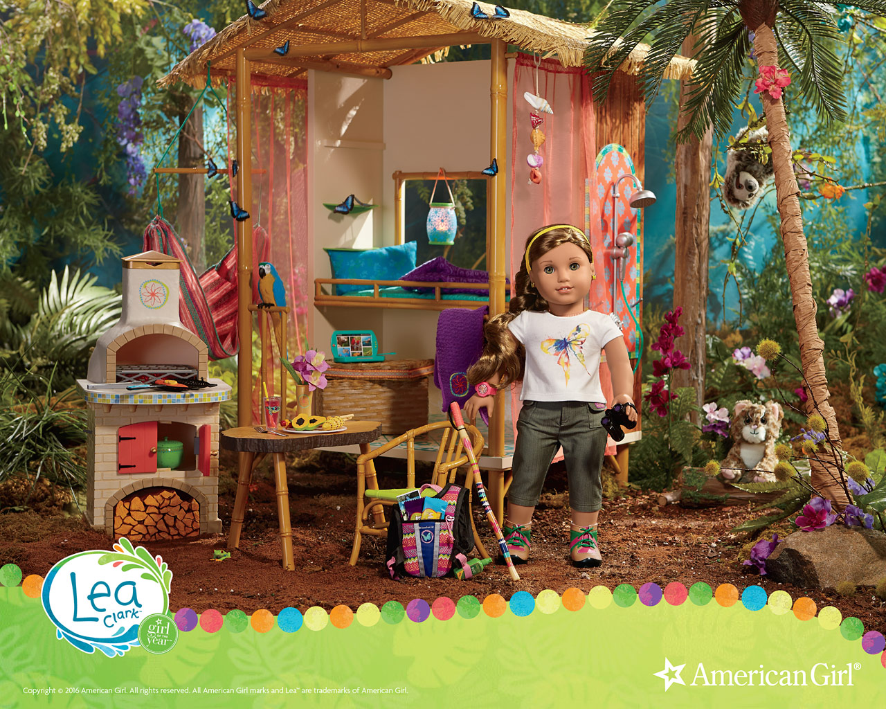 Lea Clark Girl Of The Year 2016 Play At American Girl
