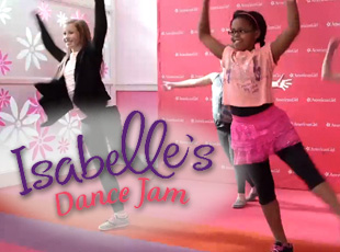 Isabelle's Dance Jam Video